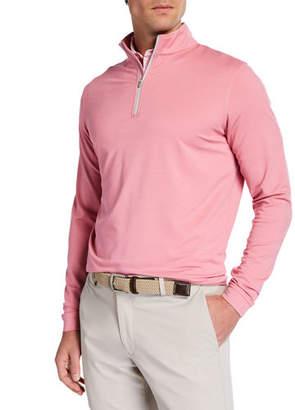 Peter Millar Men's Perth Performance Quarter-Zip Sweater
