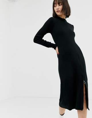 Gestuz Ramona side zip midi dress