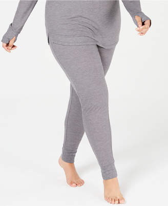 Cuddl Duds Plus Size Waffle Thermal Leggings