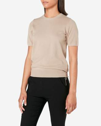 N.Peal Round Neck Cashmere T Shirt
