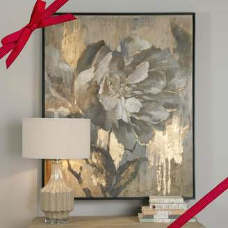 """Uttermost 35330 Dazzling - 51"""" Floral Decorative Wall Art, Finish"""