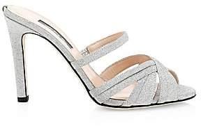 Sarah Jessica Parker Women's Indulge Glitter Mules
