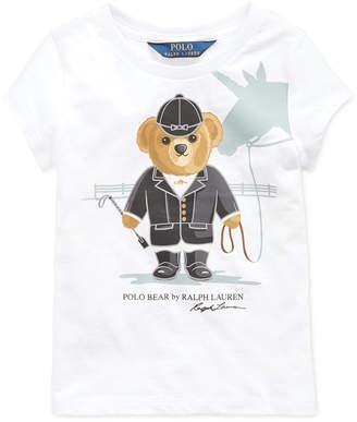 Polo Ralph Lauren Little Girls Jersey Cotton T-Shirt
