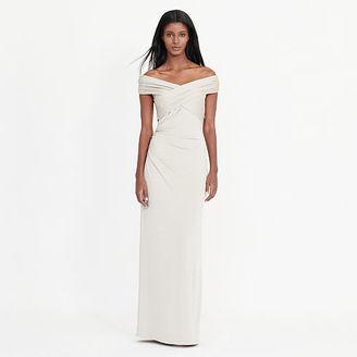 Ralph Lauren Metallic Off-The-Shoulder Gown $180 thestylecure.com