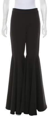 Milly High-Rise Flared Pants w/ Tags