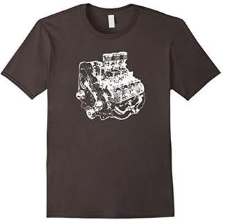 Flathead V8 Engine Silhouette