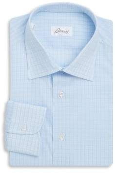 Brioni Cotton Long Sleeve Dress Shirt