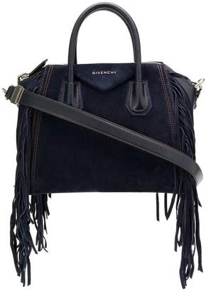 Givenchy fringes small Antigona bag