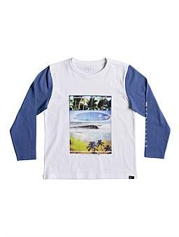Quiksilver Place To Be L/S Tee (Boys 2-7 Years)