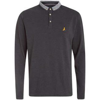 Brave Soul Men's Hatter Long Sleeve Polo Shirt