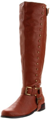 Restricted Women's Saddle Knee-High Boot