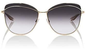 Barton Perreira Women's Captivant Sunglasses - Gold, smolder
