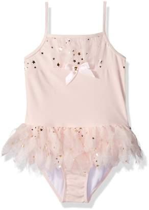 Kate Mack Little Girls' Fairy Dance Skirted Tank Swimsuit