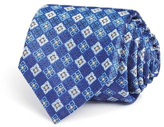 Canali Square Medallion Classic Tie $160 thestylecure.com