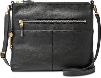 Fossil Fiona Medium Leather Crossbody