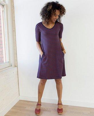 Women Simple Swing Dress $88 thestylecure.com