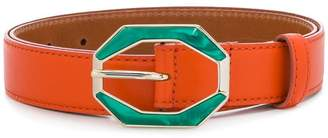 Etro resin buckle belt