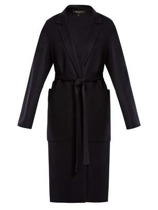 Rochas Dropped-shoulder wool belted coat