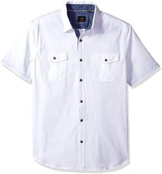 Lee Men's Stretch Short Sleeve Shirt