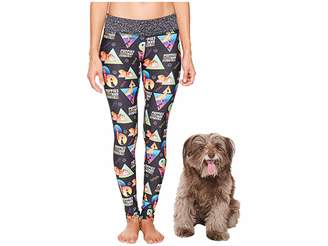 Puppies Make Me Happy Puppies Fitness Leggings