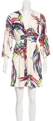 Ali Ro Printed Mini Dress