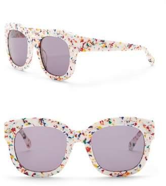 Stella McCartney 51mm Square Sunglasses
