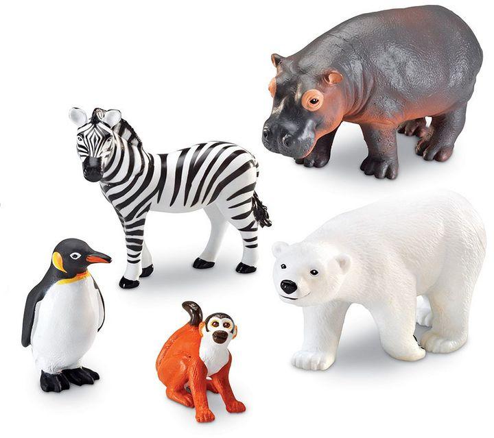 Learning Resources 5-pc. Jumbo Zoo Animals