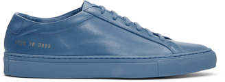 Common Projects Blue Original Achilles Low Sneakers