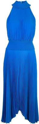 A.L.C. halter neck pleated dress