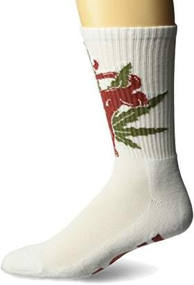 HUF Men's light Panther Socks