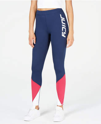 Juicy Couture Graphic Colorblocked Leggings