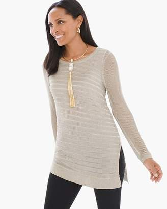 Chico's Shine Detail Amelie Pullover