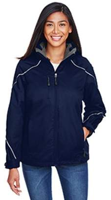 Ash City - North End Ladies' Angle 3-in-1 Jacket with Bonded Fleece Liner - NIGHT 846 - XL 78196