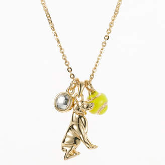 PET FRIENDS Pet Friends Gold-Tone Dog Pendant Necklace
