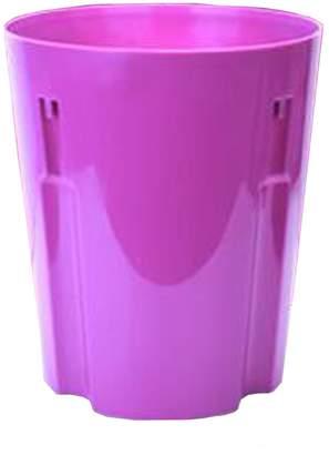Trash bin Plastic Trash Can kitchen/bathroom/bedroom/Parlor/Office Seam Trash Can Plastic Garbage Bin,10 L