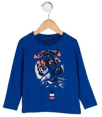 Ikks Boys' Printed Knit Shirt