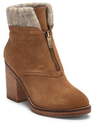 Chinese Laundry Marvel Suede & Knit Bootie