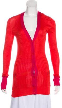 Marc by Marc Jacobs Rib Silk Cardigan