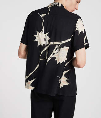 AllSaints Mokapu Hawaiian Shirt