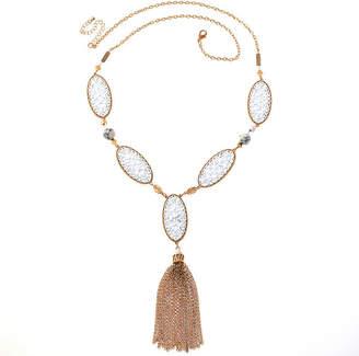 BIJOUX BAR Bijoux Bar Solid Link 28 Inch Chain Necklace