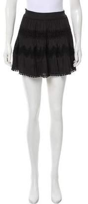 Ramy Brook Eyelet Mini Skirt