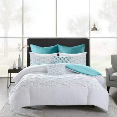 Wayfair Freidman Cotton 7 Piece Duvet Cover Set