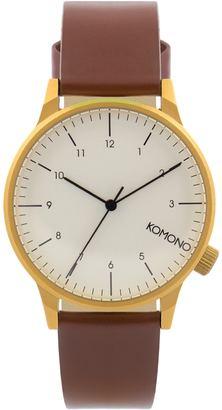 Komono Winston Regal Watch $100 thestylecure.com