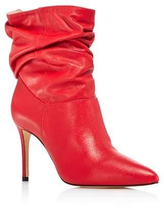 Schutz Women's Sydnee Leather High-Heel Booties - 100% Exclusive