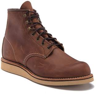 """Red Wing Shoes 6\"""" Round Leather Chelsea Boot - Factory Second"""