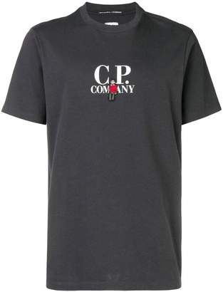 C.P. Company man patch T-shirt
