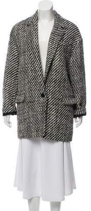 Isabel Marant Ilaria Tweed Coat w/ Tags