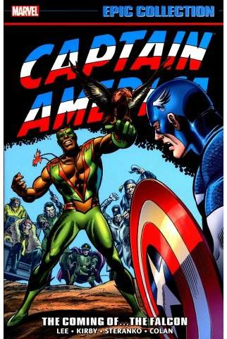 Epic Collection Captain America 2 : The Coming Of... The Falcon (Paperback) (Stan Lee)