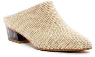 Aquatalia Fife Woven Block Heel Mule