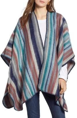 Treasure & Bond Stripe Blanket Wrap